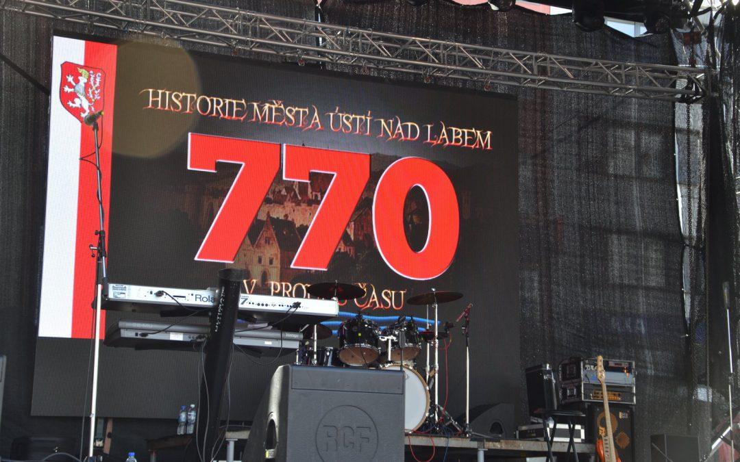 770. let Ústí nad Labem