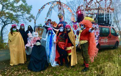 Netradiční Halloween v Háji